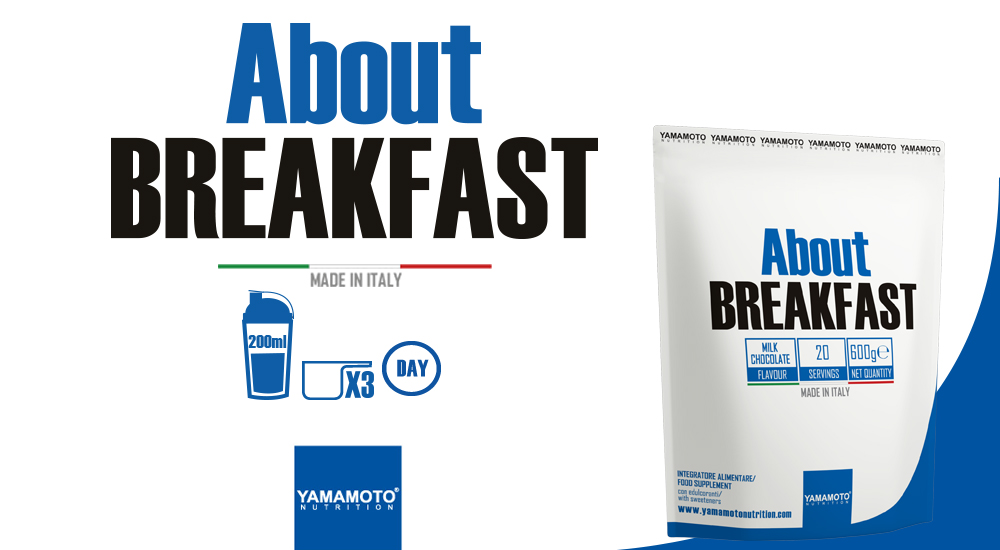 Yamamoto Nutrition - About Breakfast - IAFSTORE.COM