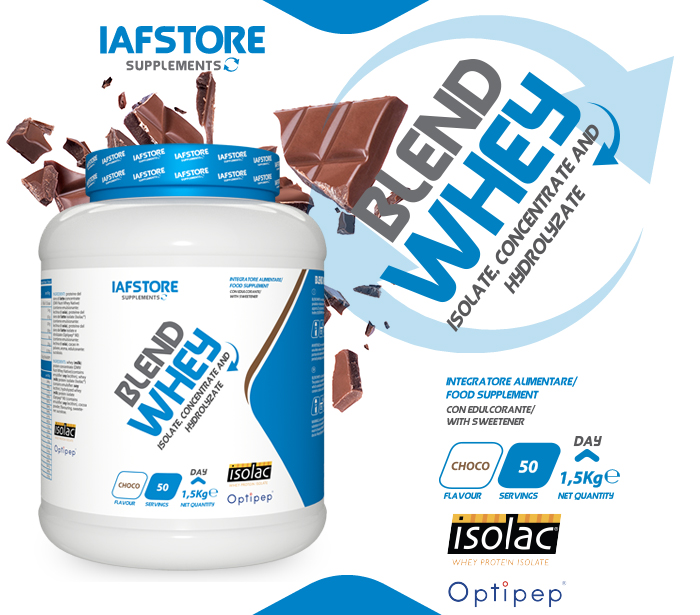 Iafstore Supplements - Blend Whey - IAFSTORE.COM