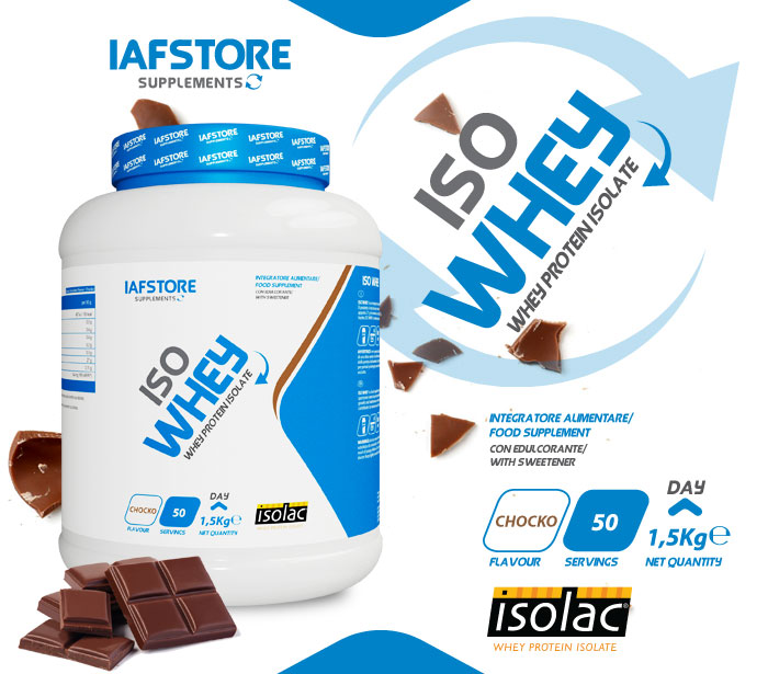 Iafstore Supplements - Iso Whey - IAFSTORE.COM