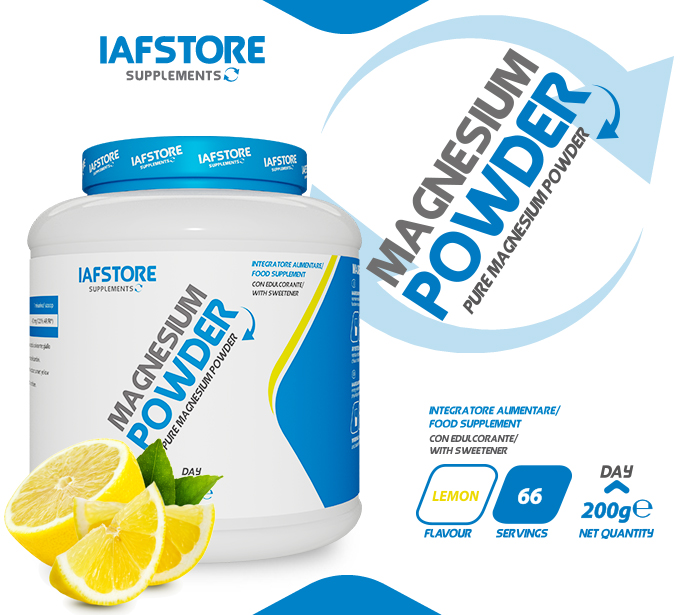 Iafstore Supplements - Magnesium Powder