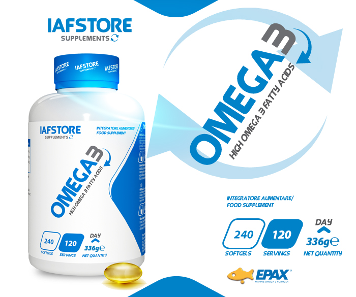 Iafstore Supplements - Omega3 - IAFSTORE.COM