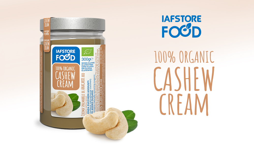 Iafstore Supplements - 100% Organic Peanut Spread Vanilla Flavoured - IAFSTORE.COM