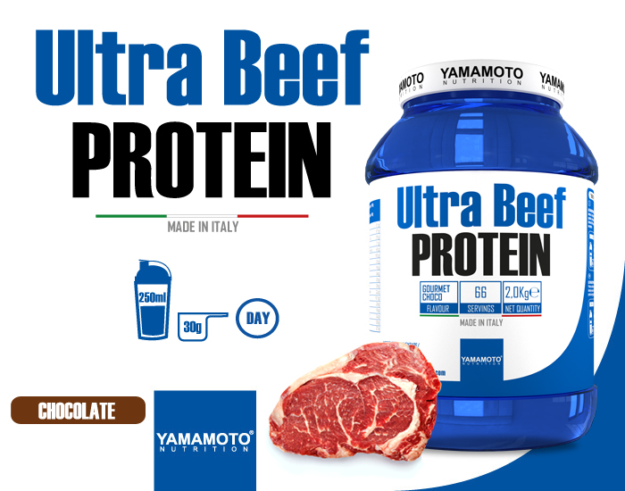Yamamoto® Nutrition - Ultra Beef Protein - IAFSTORE.COM